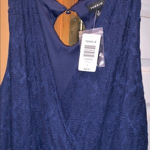 New with Tag TORRID SIZE 3 NAVY WEDDING Dress